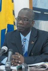 Hon Ronald Jones, Minister of Education, Science, Technology and Innovation
