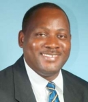 Donville Inniss - Minister of Health has accused BLP MPs of eating lunch in the lunchroom of parliament despite a decision to boycott parliament.