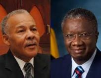 Stuart and Arthur, political leaders of the DLP and BLP