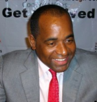 Roosevelt Skerrit, Prime Minister of Dominica - photo credit Dominica News